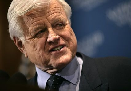 Ted Kennedy-vous malade et-mort-in-the-cerveau-tumeur