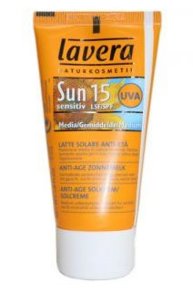 Sun Sensitive - Anti Age Lait Solaire SPF 15